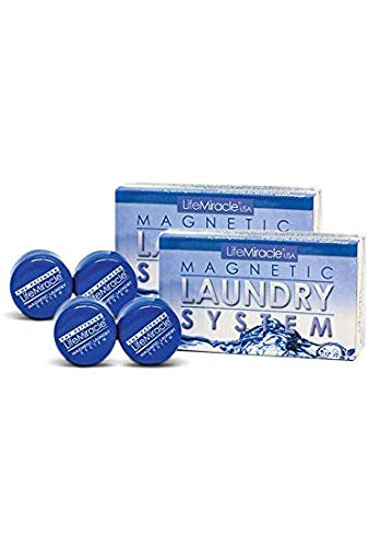 Magnetic Laundry System [Double Pack Special] (MLS x2) The Greener, Non-Toxic, Eco-Friendly, Money Saving, Patented & Proven Laundry Detergent Alternative. by Water Liberty (Image #2)