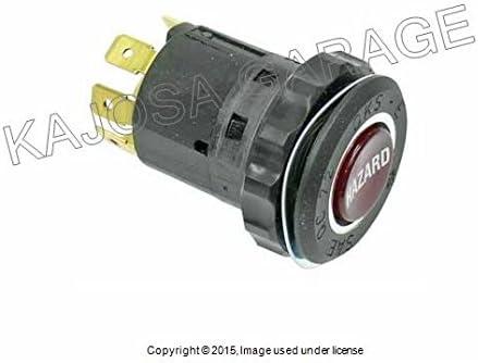 Genuine Hazard Flasher Switch Fits BMW 2002 E10 3 Series 2002tii 3.0CS E9 6