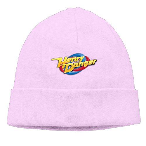 Fashion Henry Danger Pink Head Cap Sweat Beanie Street Dance For Unisex