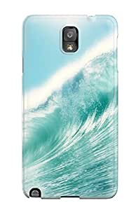 Fashion PPesxUy5437SOxsb Case Cover For Galaxy Note 3(sea Tide)