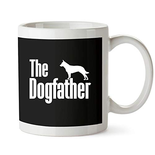 Idakoos - The dogfather Blue Heeler - Dogs - Mug for sale  Delivered anywhere in USA