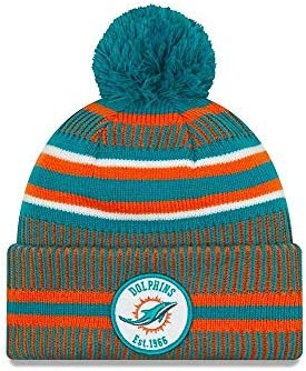 On Field Sport Knit Hm Beanie ~ Miami Dolphins