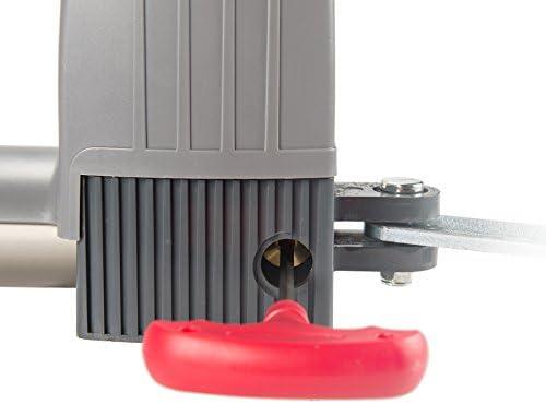 Sfeomi 80W Motor para Puerta Automática 1500N Abrepuertas Automático con Control Remoto Abridor Automático de Puerta con Distancia de 30M: Amazon.es: Bricolaje y herramientas
