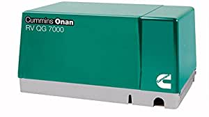 Cummins Onan 7 HGJAB-1036 - RV generator set Quiet Gasoline Series RV QG 7000