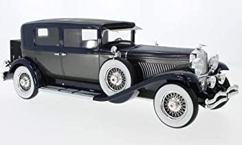 Duesenberg Model J Willoughby Berline, Black/Silver, 1934, Model Car,,