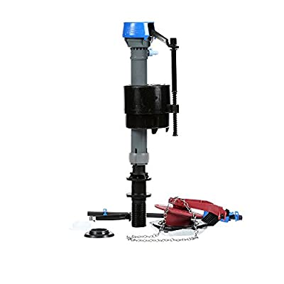 Fluidmaster 400CARP5 No Tank Removal PerforMAX Fill Valve and Adjustable Flapper Repair Kit