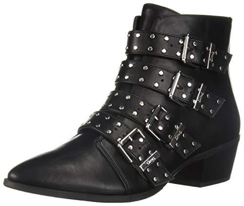 Circus by Sam Edelman Women's Hutton Fashion Boot, Black Waxy, 9.5 M US ()