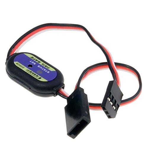 1PCS Digital Nitro RC Fail Safe Servo Receiver Failsafe AntiInterference Fail Safer for RC Petrol Powered Vehicle Model Connect