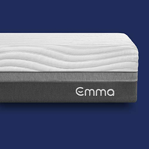 "Emma King Mattress | 12"" High Memory Foam Mattress 