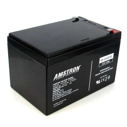 Amstron 12V/12AH Sealed Lead Acid Battery w/ F2 Terminal
