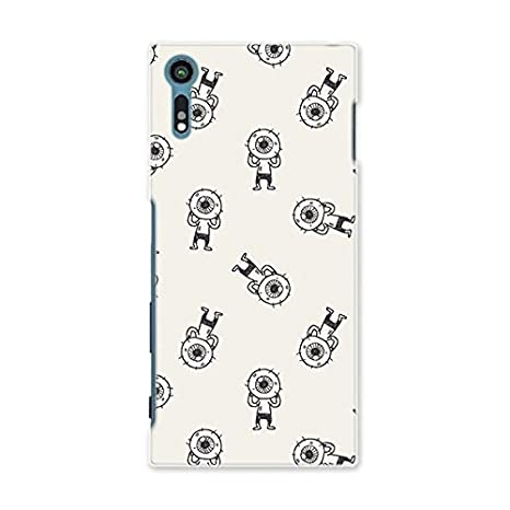 b417dd5c7a スマコレ スマホケース オリジナルスマートフォンケース ハンドメイド 携帯ケース【print】SO-01J 目玉おやじ