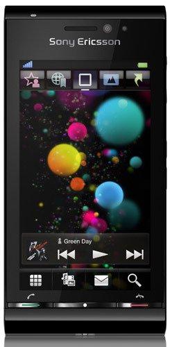 -  Sony Ericsson Satio (Black) Unlocked, International verison with no warranty