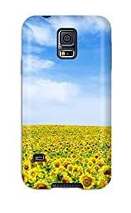 Best Sunflower Landscape Case Compatible With Galaxy note4/ Hot Protection Case 7474783K36300649