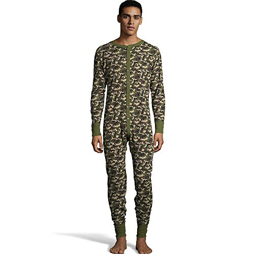- Hanes Men's Camo Waffle Knit Thermal Union Suit