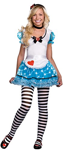 Wonderland's Delight 4 Piece Dress Alice Teen Girls Costume