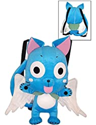 FAIRY TAIL Happy Plush Bag, Multicolored