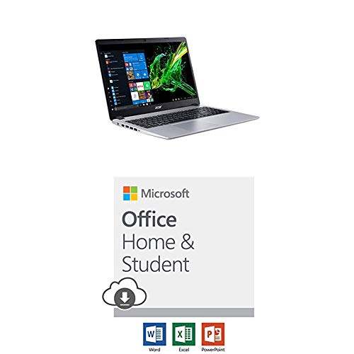 Acer Aspire 5 with Microsoft Office Home and Student 2019 Download | 1 person, Compatible on Windows 10 and Apple macOS