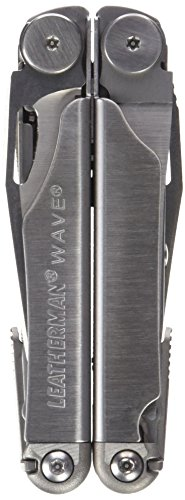 037447710636 - Leatherman 830039 Wave Multitool with Leather/Nylon Combination Sheath, Silver carousel main 0