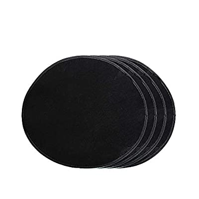 J&C Wheel Felt Cover 21inches Lightweight Universal Fit Dustproof Wheel Protection Cover Spare Wheel Felts Pack of 4: Automotive