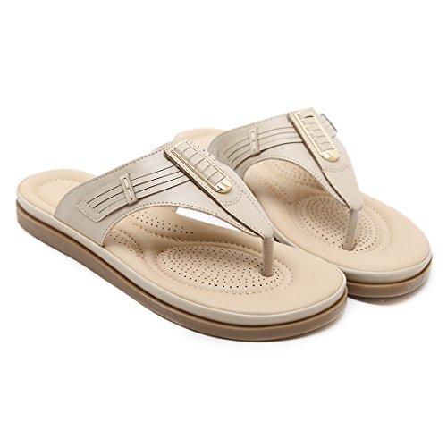 Plates Chaussures des Femmes de Ruiren Abricot D'été pour Bascules Sandales de Dames 5IXzzwnqUx