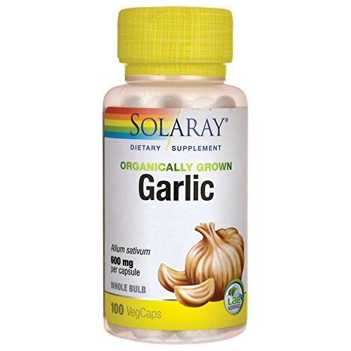 Solaray Organic Garlic Supplement 600 mg