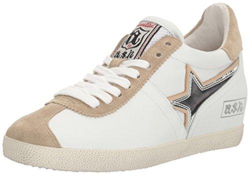 Ash Women's Guepard Bis Fashion Sneaker, White, 41 EU/11 M US