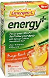 Cheap Emergen-C Energy+ Fizzy Drink Mix Packets Mango-Peach – 18 packets, Pack of 3