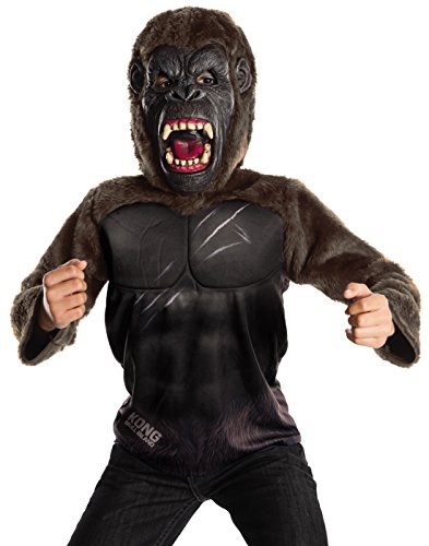 (Rubie's Costume Kong: Skull Island Child's Deluxe King Kong Costume, Multicolor,)