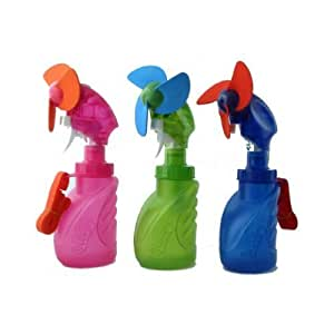 O2 Cool Squeeze Breeze Water Misting Fan - O2 Cool 2059 - Colors may vary
