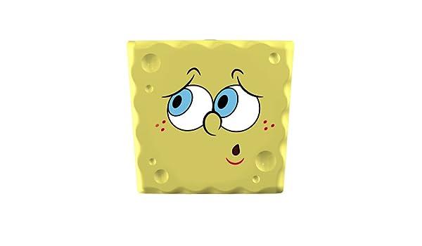 FLIPPER 11505 SpongeBob Oops - Soporte de cepillo de dientes (5 cm, fijación por ventosa), diseño de Bob Esponja preocupado Tamaño: 5 cm.: Amazon.es: Hogar