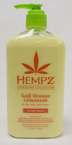 Lot of 2 Hempz GOJI Orange Lemonade Herbal Body Moisturizer 17 Fl Oz. Signature Collection Limited Edition | JUST RELEASED!!!