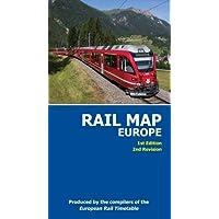 Rail Map of Europe - July 2017