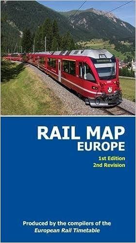 Rail Map of Europe 1 : 4.000.000: Amazon.de: Fremdsprachige ...