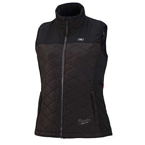 Milwaukee M12 Heated AXIS Vest Lithium-Ion Front and Back Heat Zones - Black (2X-Large, Womens Vest Only)