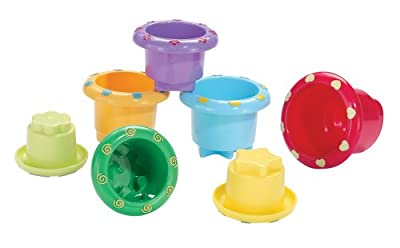 Earlyears Stack n Nest Cups by International Playthings