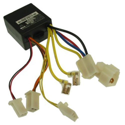 Razor E100 Scooter 24 Volt Controller - with 7 Connectors for Razor E100 and E125 (Versions 10+), E150 (Versions 1+), E175 (Versions 18+) Razor Part #W13111612015 (Scooter Parts Electric)
