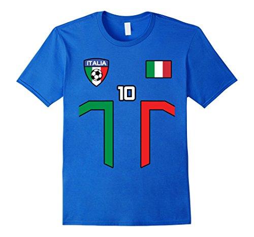- Mens ITALIA CALCIO TSHIRT FORZA AZZURRI FOOTBALL BLUE MAN WOMAN XL Royal Blue