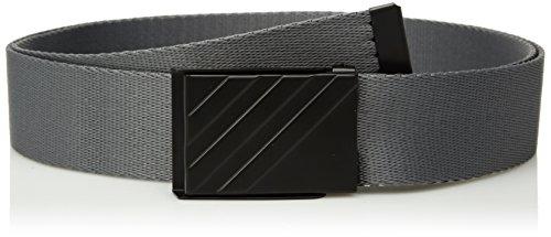 adidas Golf Men's Webbing Belt, Grey Four, One Size