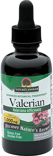(Nature's Answer Alcohol-Free Valerian Root, 2-Fluid Ounces)