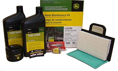 John Deere Original Equipment Maintenance Kit #LG230 (John Deere 125 Lawn Tractor Oil Filter)