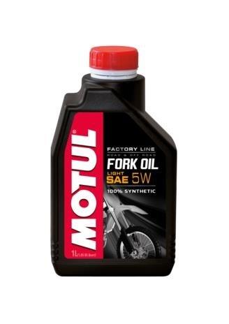 Motul 1L Suspension Fork Oil Factory Line Light/Med. 7.5W - Synthetic Ester(105926) (Line Russell Oil)