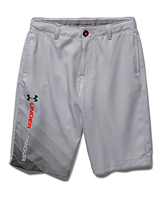 Under Armour Boys' UA Fade Right Golf Shorts