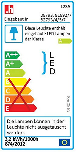 Fackelmann 82795 LED Spiegelschrank Kayo 60 cm