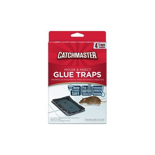 Ap & G Inc Catchmaster 104sd Baited Mouse Glue Traps 4 Count Baited Glue Traps