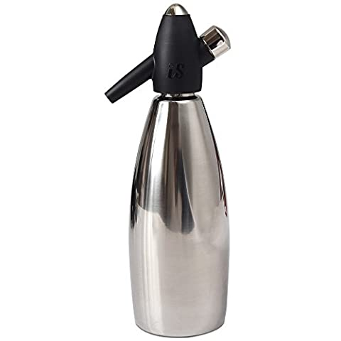ISI Soda Siphon 1 Quart Stainless Steel - Isi Siphon