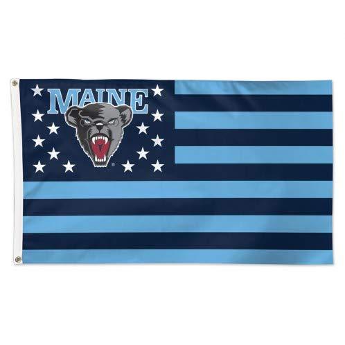 Maine 黒 Bears アメリカ国旗 3 x 5フィート NCAA