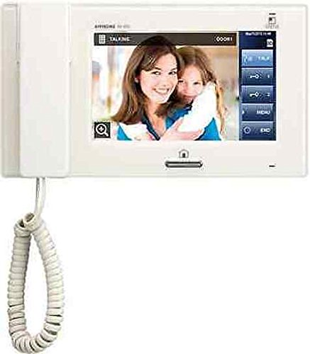 Aiphone JP-4HD 7 Inch TouchScreen HandsetHands-Free Sub Master for JP Series
