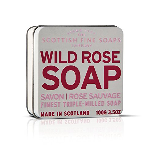 (Scottish Fine Soaps Finest Triple Milled Soap for Women, Wild Rose, 3.5 Ounce)