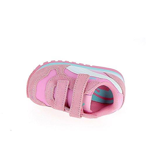 Puma St Runner Nl V Inf, Zapatillas Unisex Niños rosa - weiß - blau