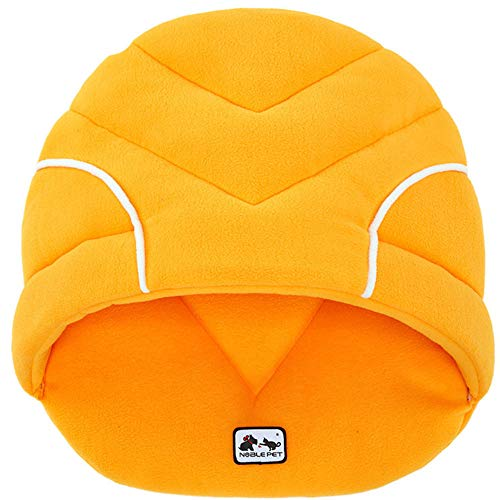 AKwell Pet Sleeping Bag Soft Fleece Winter Warm Pet Dog Bed Small Dog Cat Sleeping Bag Puppy Cave Beds